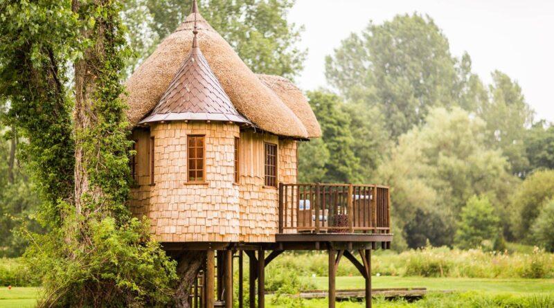 eco-friendly treehouse