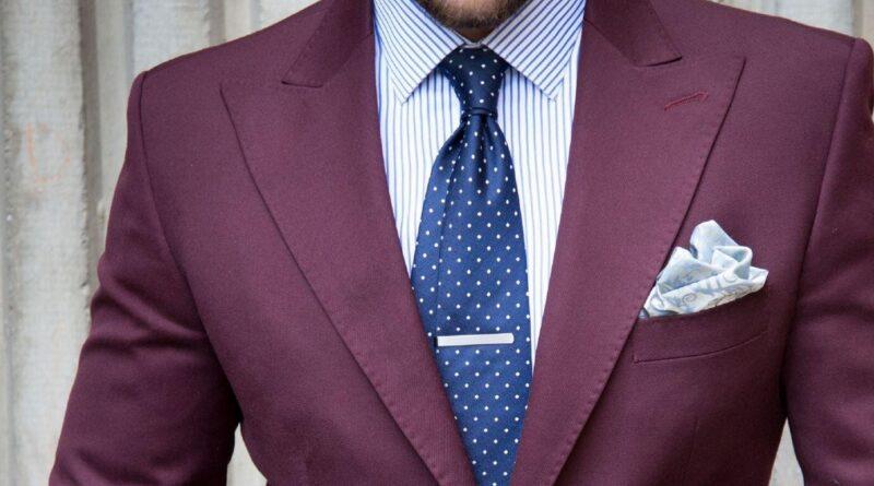 businessman dressing